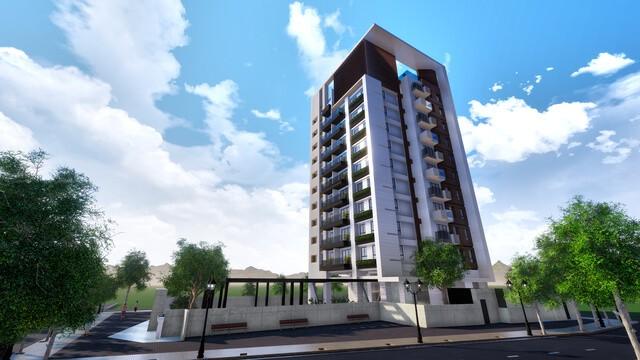 該案規劃地上11樓、地下1樓。良悅建築提供