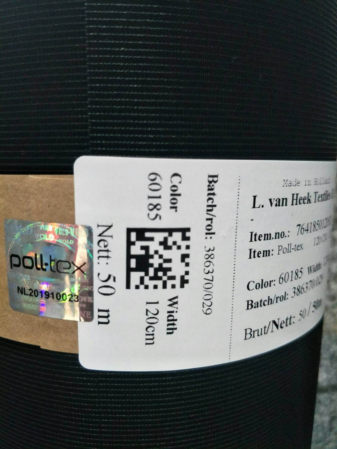 Poll-tex防霾紗窗原廠出品才有防偽標章,普特絲為台灣唯一總代理。