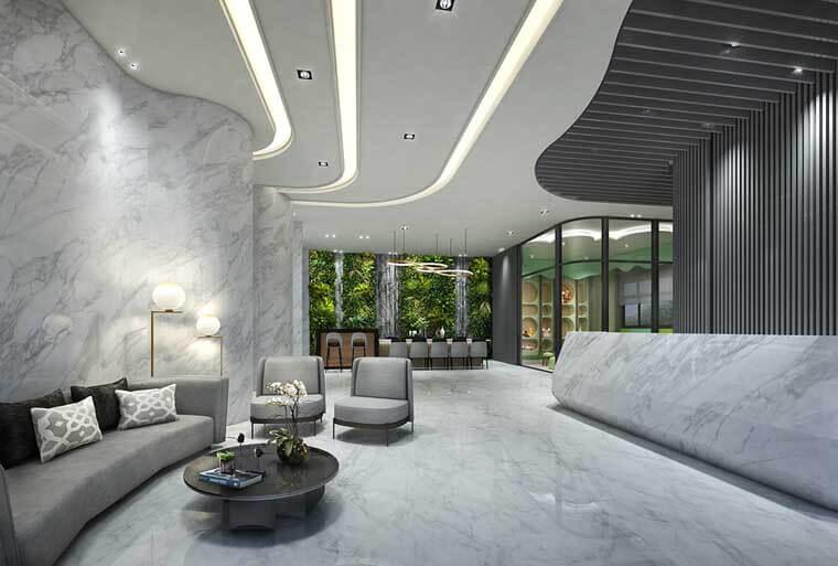 「坤悅雅樂」飯店式的公設規劃,讓住戶體驗到高規格的硬體享受。