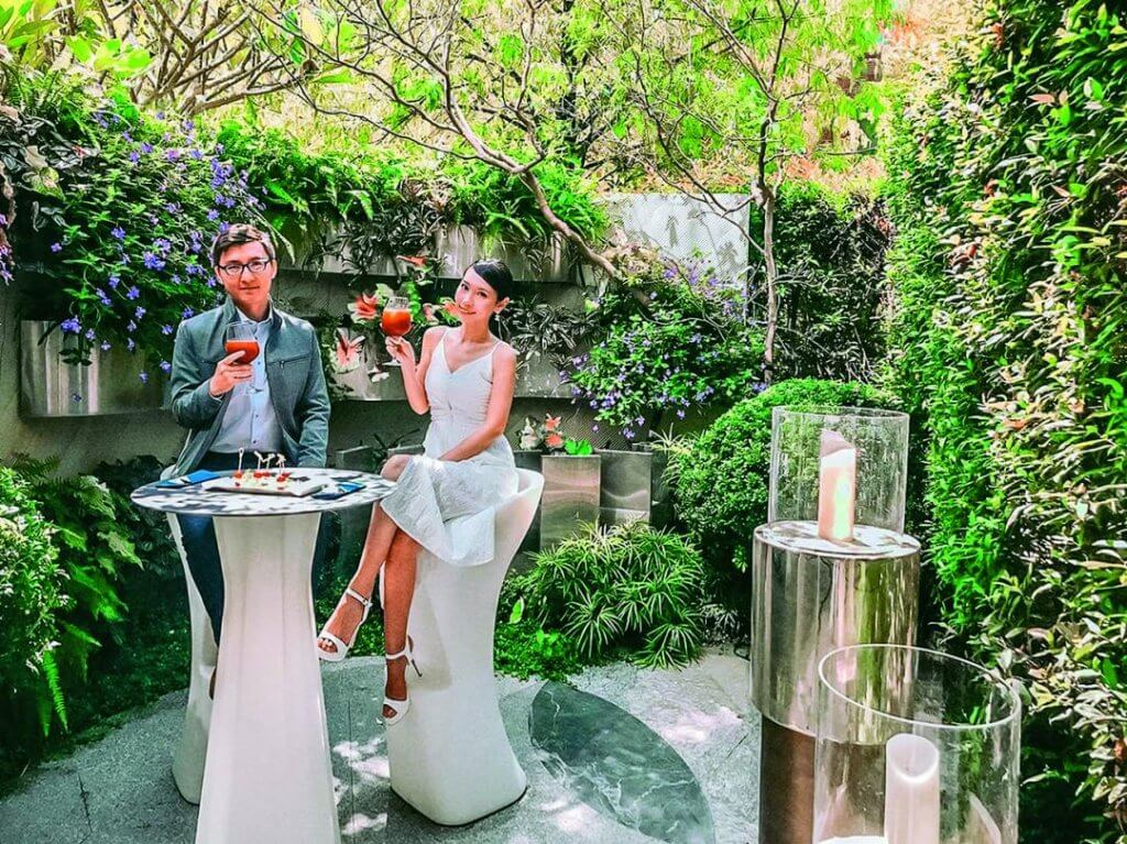 精銳GardenOne社區花園將規劃湖泊、玻璃花房、水瀑造景等,可在此宴客用餐,相當舒服。