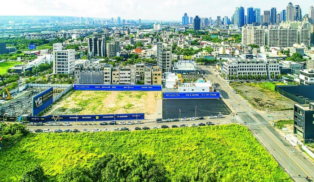 精銳gardenone單元二綠覆率高,近年成為豪宅新聚落。